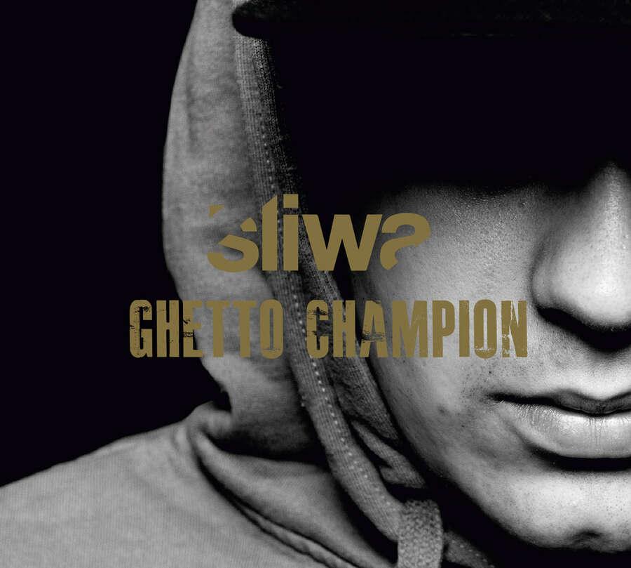 okładka 1 z ostatnich płyt Śliwy - Ghetto Champion